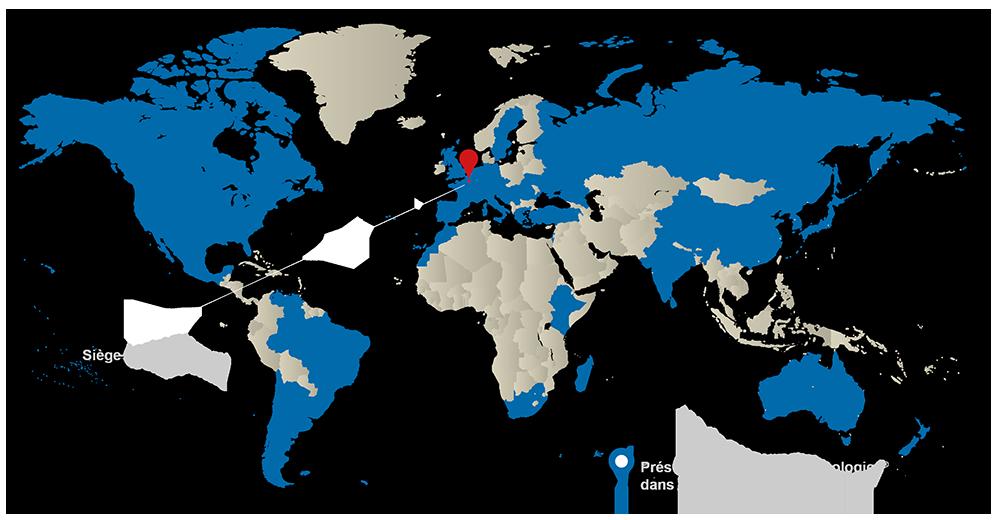 Presentation - Carte du monde
